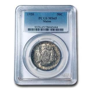 1920 Maine Centennial Half Dollar MS-65 PCGS