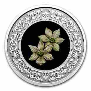 2020 RCM 1/4 oz Ag $3 Floral Emblems - BC: Pacific