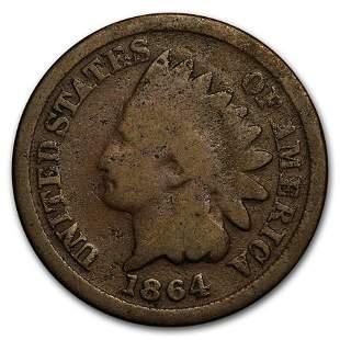 1864 Indian Head Cent Bronze Good