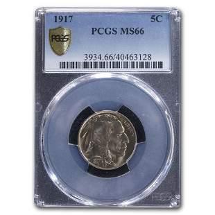 1917 Buffalo Nickel MS-66 PCGS