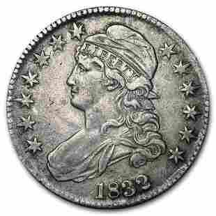 1832 Bust Half Dollar XF (Sm Letters)