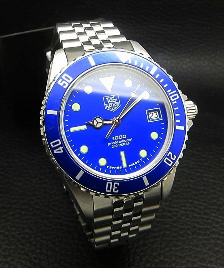 TAG HEUER 1000 Professional 200M BLUE DIVER MENS WATCH