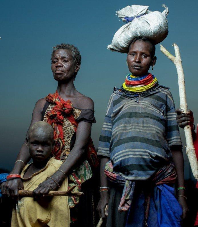 Emmanuel Jambo — Three Women, Where Did We Go