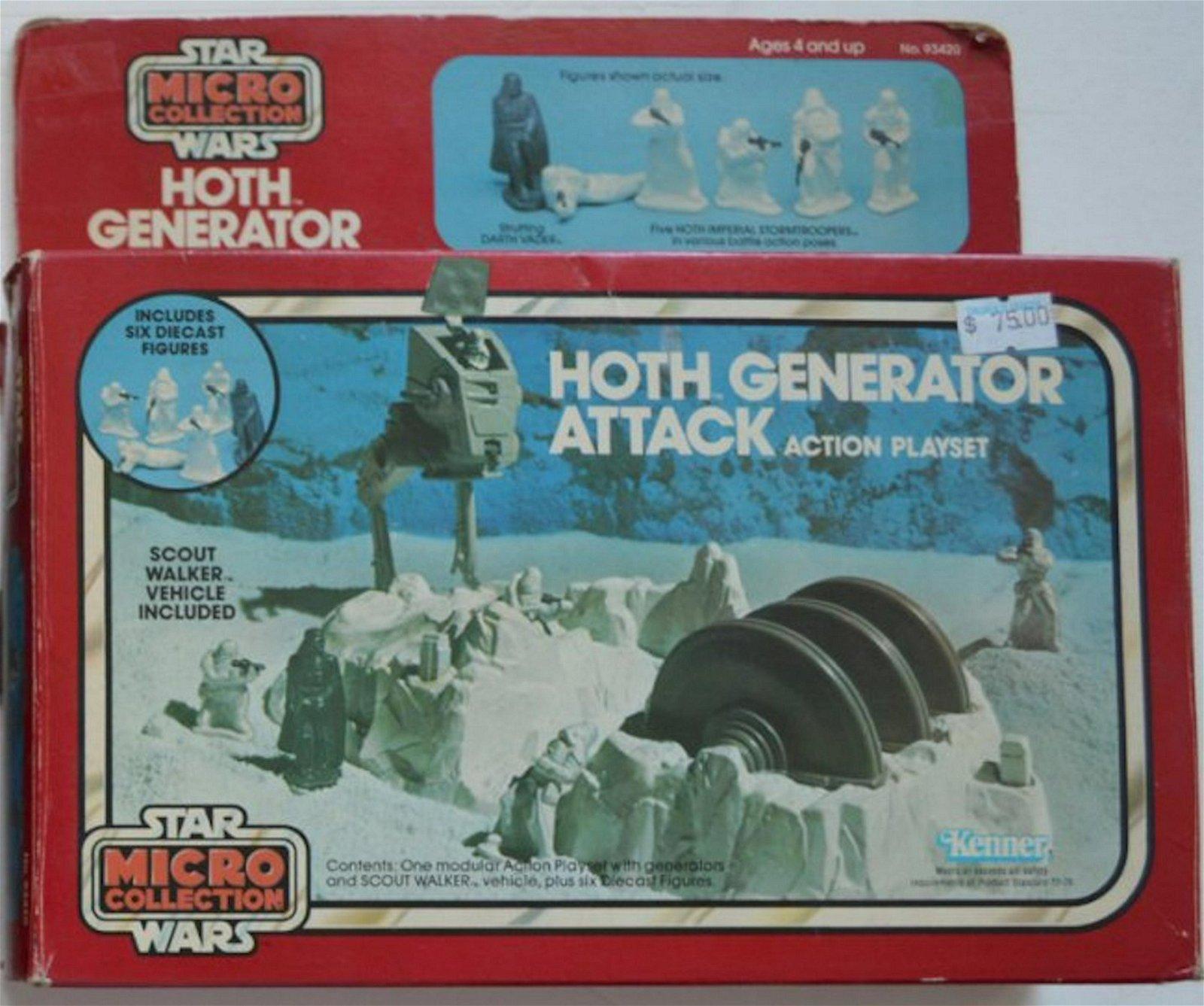 STAR WARS HOTH GENERATOR ATTACK ACTION SET. NO 93420