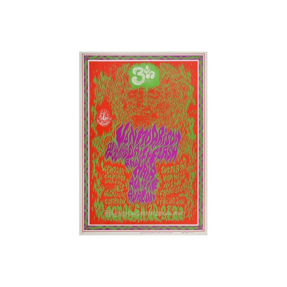 Van Morrison - 1967 Family Dog Concert Poster