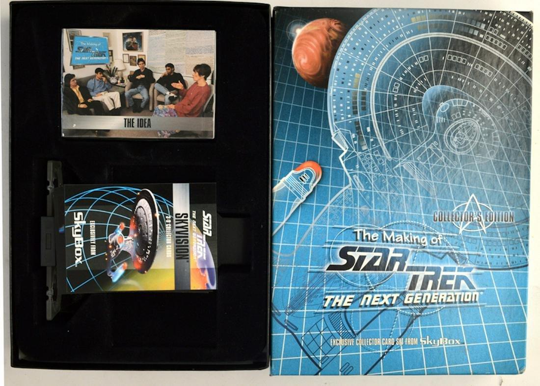 "THE MAKING OF STAR TREK ""THE NEXT GENERATION"" CARD SET"
