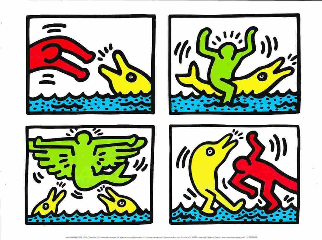 "Keith Haring - ""Pop Shop V"" (2011)"