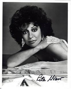 Rita Moreno 8 x 10 Signed Photograph wCOA