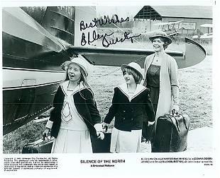 Ellen Burstyn 10x8 Signed black and white photograph