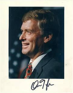 Dan Quayle 8x10 Signed color photograph w COA