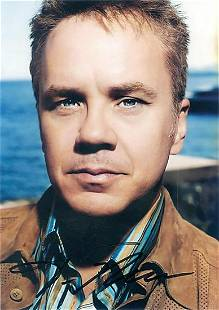 Tim Robbins 5x7 Signed color photograph wCOA