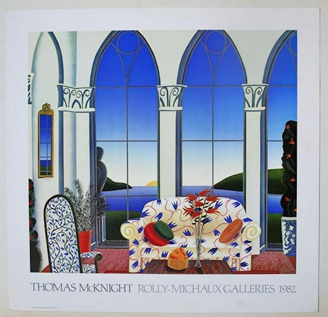 "THOMAS MCKNIGHT ""ROLLY-MICHAUX GALLERIES 1982"""