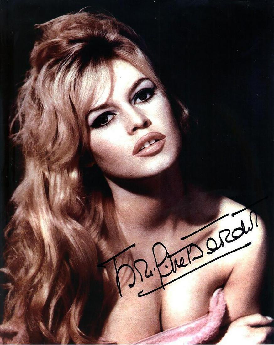 Brigitte Bardot - 8 x 10 Signed Photograph w/COA