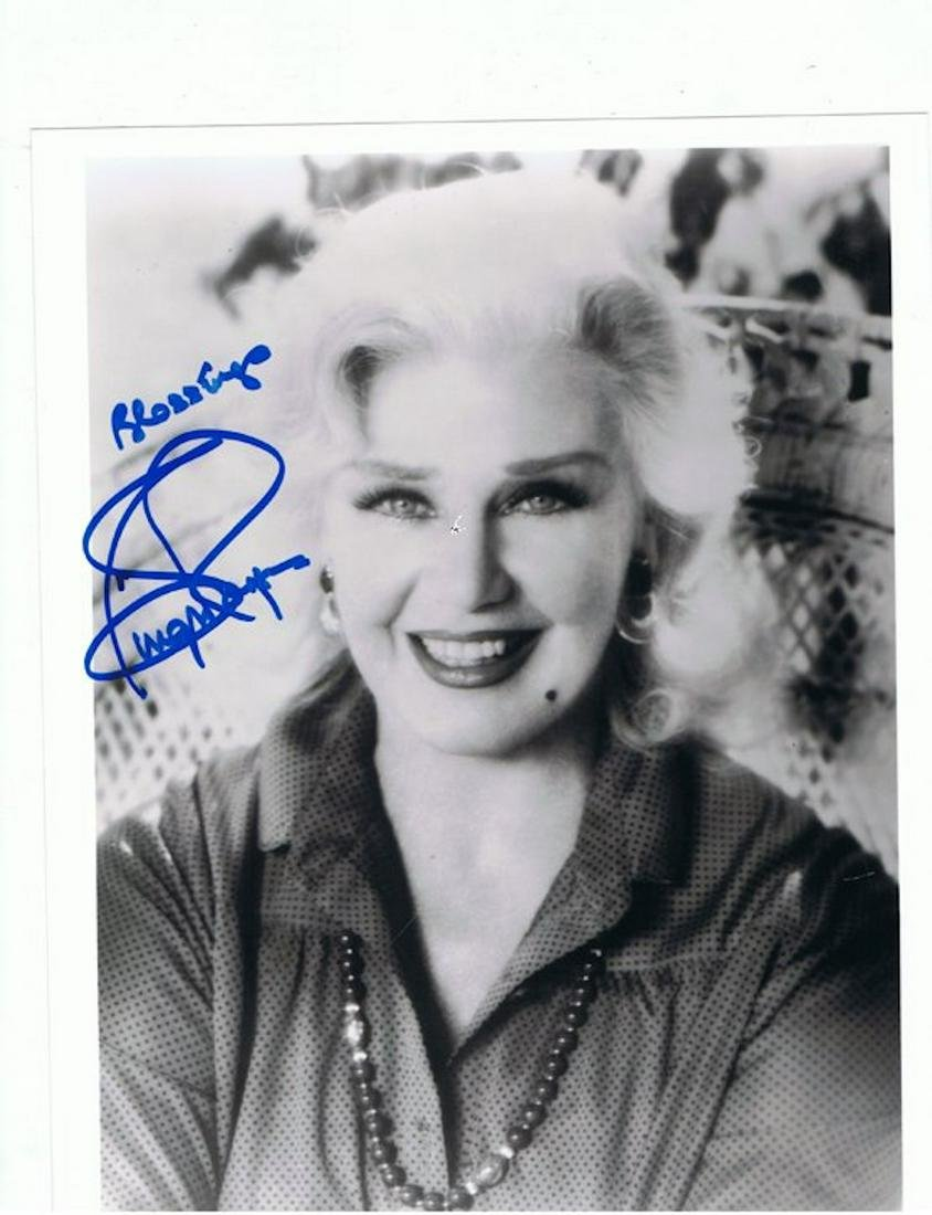 GINGER ROGERS - 8 x 10 SIGNED PHOTO W/ COA