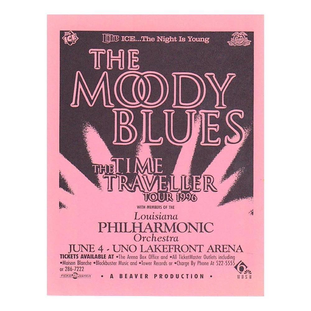 Moody Blues - 1996 Concert Handbill
