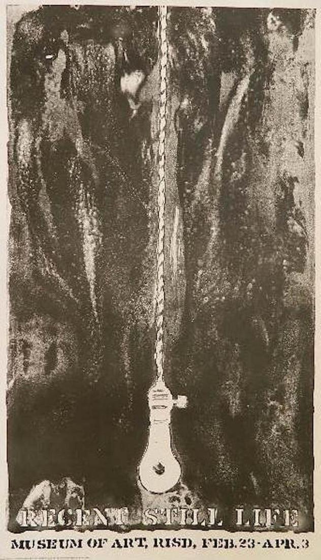 Jasper Johns- ''Recent Still Life'' poster 1966