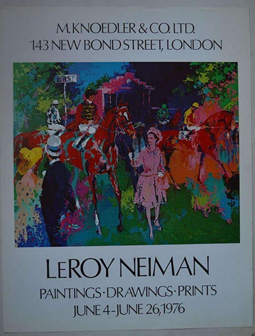 """LEROY NEIMAN """"TENNIS"""""""