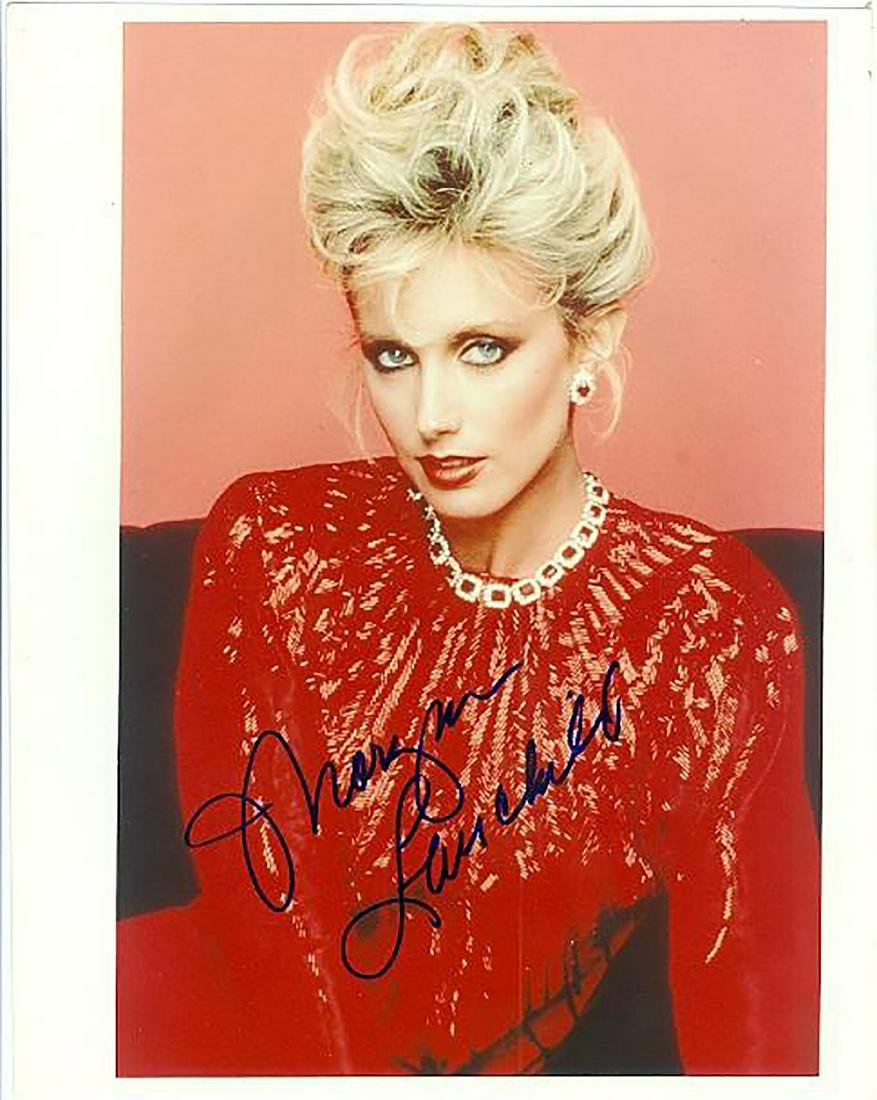 Morgan Fairchild- 8x10 Signed beautiful color
