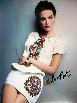 Natalie Portman - 8 x 10 Signed Photograph w/ COA