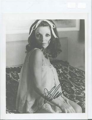 Joan Collins - 8 x 10 Signed photograph