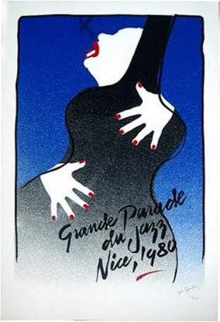 GRAND PARADE DU JAZZ NICE 1980 SIGNED AND NUMBERED ED
