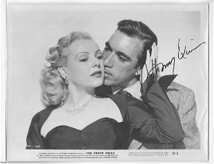 ANTHONY QUINN -#4 the kiss-- 8X10 PHOTO W/ CERTIFICATE