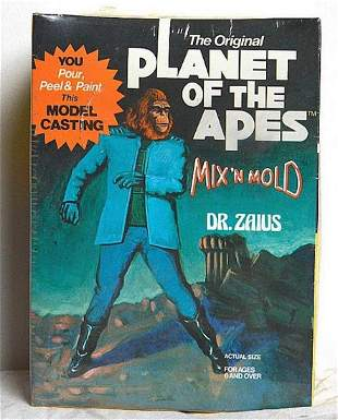 PLANET OF THE APES MIX N MOLD DR ZAIUS MODEL