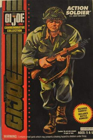 GI-JOE ACTION SOLDIER COMMEMORATIVE COLLECTION