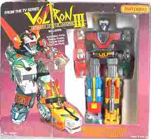 "MATCHBOX ""VOLTRON III"" MINIATURE LION SPACE ROBOT"