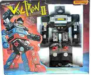 MATCHBOX VOLTRON II MINIATURE GLADIATOR SPACE ROBOT(BLA