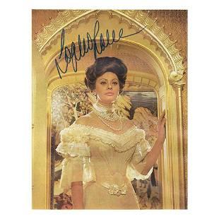 Sophia Loren - 6 x 8 Signed Photograph w/COA