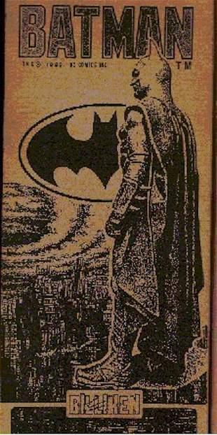 BILLIKEN BAT MAN VINYL