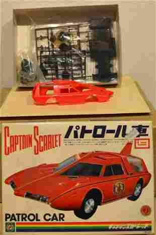 CAPTAIN SCARLET PATROL CAR ASSEMBLY MODEL KIT