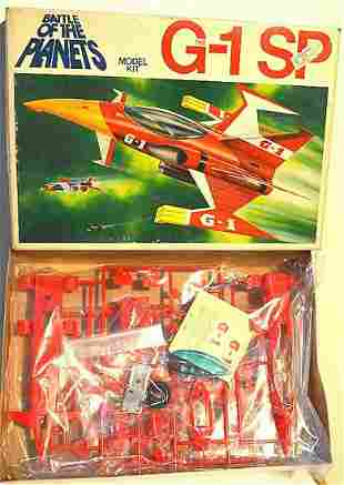 BATTLE OF THE PLANETS G-1 SP AIRPLANE MODEL KIT