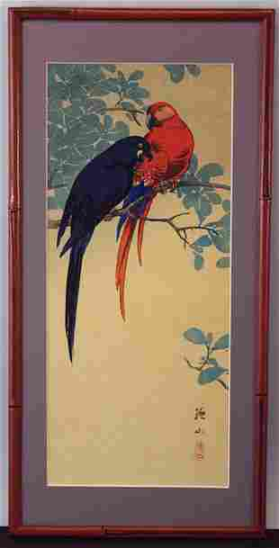 Sozan Ito (1906-1926) - Red and Blue MaGaws