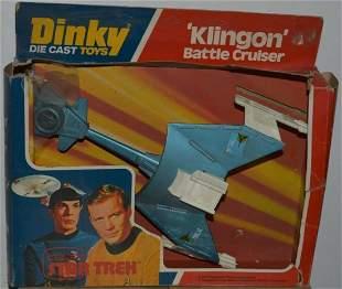 """STAR TREK """"KLINGON"""" BATTLE CRUISER SPACE SHIP"""