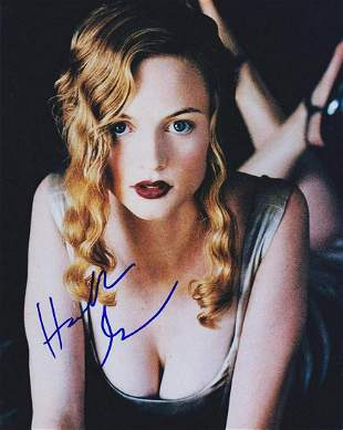Heather Graham - Signed 8 x 10 Photograph w/COA