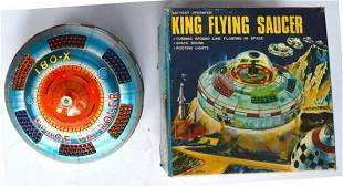 Space Patrole 180-X king flying saucer made in Japan