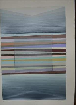 "SONNY ZOBACK  ORIGINAL ""UNTITLED ABSTRACT"""