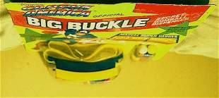 CAPTAIN AMERICA OFFICIAL BIG BUCKLE (WITHOUT GUMBALL)