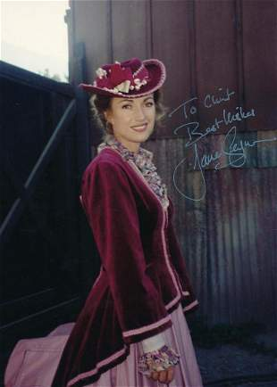 Jane Seymour- 8 x 11 Color attractive signed photograph