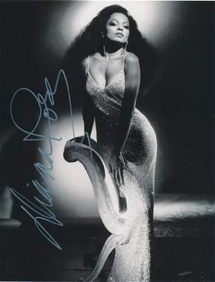 Diana Ross- 8 x 10 Stunning signed w/COA