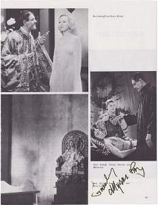 Myrna Loy - 8.5 X 11 Signed Photograph Page w/COA