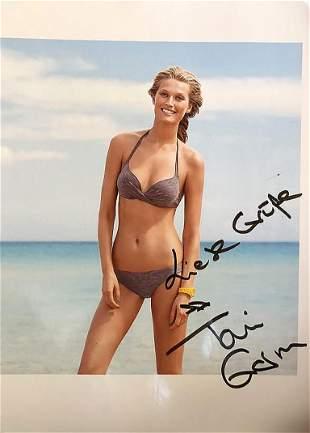 Toni Garn - 8.25 x 11.75 Signed Photograph w/COA