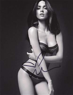 Megan Fox- 8 x 10 Signed Photograph w/COA