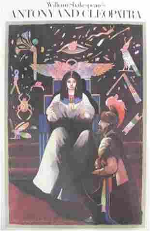 Glaser, Milton: Original Poster CLEOPATRA