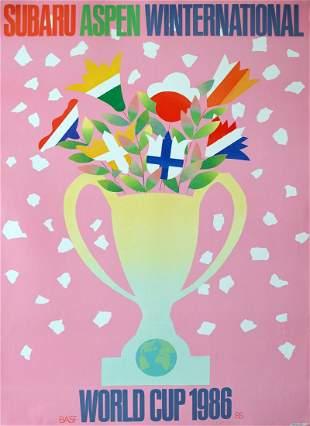 "Milton Glaser - ""World Cup 1986"""