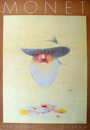 "Milton Glaser - ""Monet"""