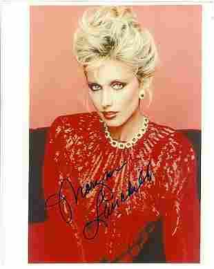 Morgan Fairchild- 8x10 Signed beautiful color