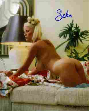 Seka - 8 x 10 Signed Nude Photograph of Adult Movie